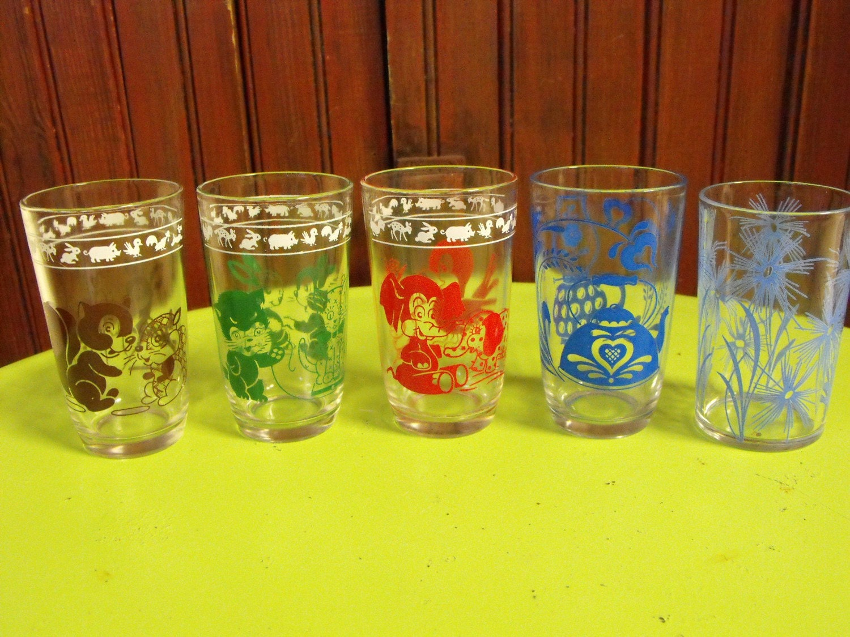 Vintage Juice Glasses 31