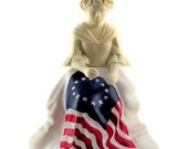 Avon Betsy Ross Figurine & Sonnet Cologne (Treasury Item x 6)