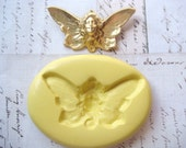 BUTTERFLY FAIRY - Flexible Silicone Mold - Push Mold, Jewelry Mold, Polymer Clay Mold, Resin Mold, Craft Mold, Food Mold, PMC Mold