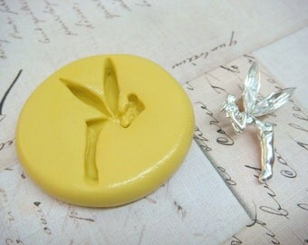 TINKERBELL - Flexible Silicone Mold - Push Mold, Polymer Clay Mold, Resin Mold, Pmc Mold