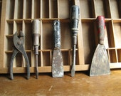 Vintage Farm Tools / Rustic Farmhouse Tool Collection