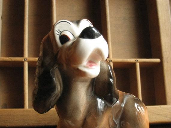 Vintage Cocker Spaniel Dog Figurine