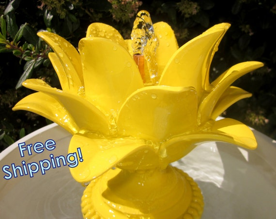 Sunshine Bloom Water Fountain- Indoor and Outdoor Water Fountain- Free Shipping