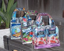 Recycled/ Upcycled Pouch Purses