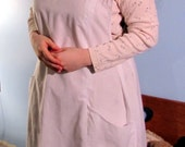 Six White Edwardian Aprons / Custom Order for Reproductions ONLY