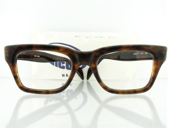 Eyeglass Frame Usa : VTG 60s NALCO 44 eyeglasses frames USA A Single Man Colin