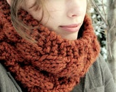 Double Cable Cowl - Rust