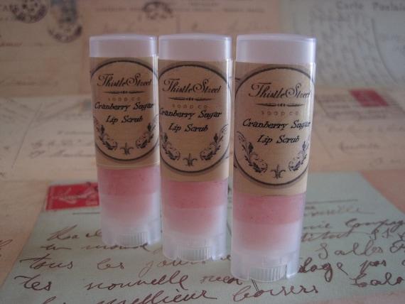 DISCONTINUED Cranberry Sugar Lip Scrub