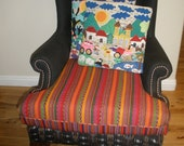 Upcycled Wingback Chair