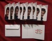 Star Wars 10 Pack Lando Calrissian Christmas Cards