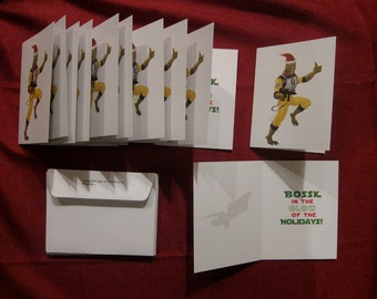 Star Wars 10 PACK BOSSK Holiday Cards