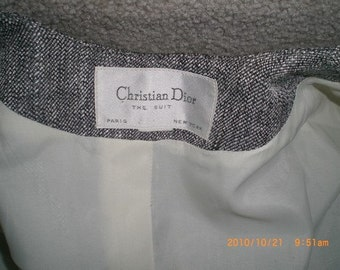 1980s Christian Dior Power Suit