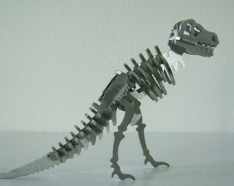 Vintage Metal Dinosaur, Office Decor,Nursery Decor,