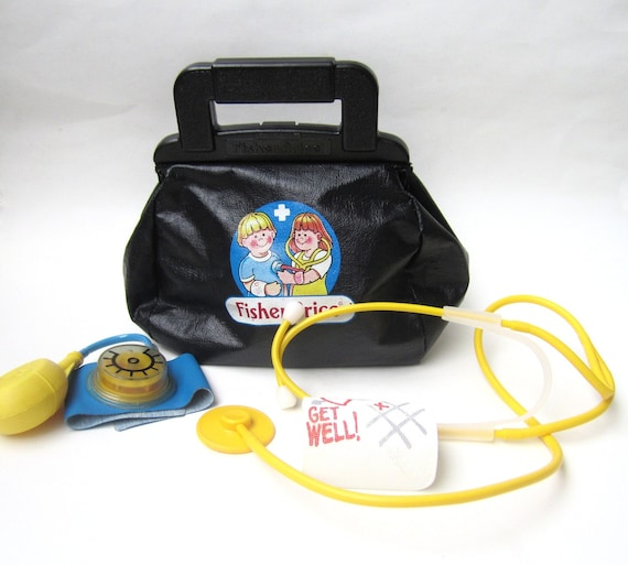 1980s Fisher Price Medical Doctors Kit