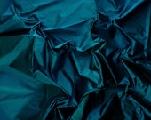 Silk Taffeta in  Unique Blue- Fat quarter -TF 36