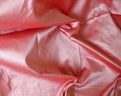 Silk Taffeta Premium Quality in Puce Pink with Red shimmer - TFP 54 A