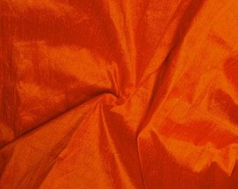 Silk Dupioni in Saffron - Fat Quarter -D 56