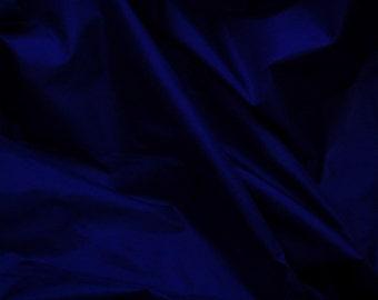 Silk Taffeta in Rich Blue, Fat quater-TF39