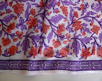 Indian Summer Pure Cotton Fabric - One yard