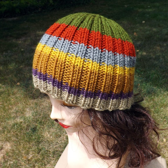 The Doctor Who Hat - Inspired by the 4th Doctor's Scarf, Tom Baker