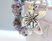 Crocheted Bracelet -  Aurora Borealis