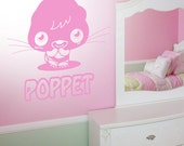 Moshi Monsters Poppet - Wall Decal Art Sticker Boys Girls Children Bedroom - Large