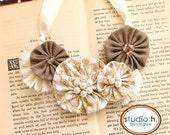 Grace Vintage Bib Necklace by Studio H. Boutique
