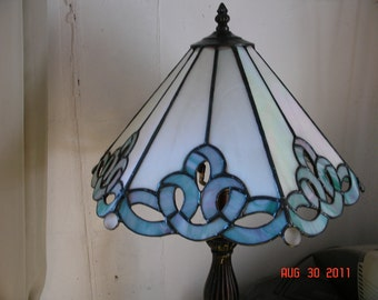 Stained Glass Ribbon Panel Lamp