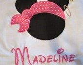 Child's Minnie Mouse custom t-shirt brother/sister Pirate Mickey t-shirt family vacation matching disney shirts