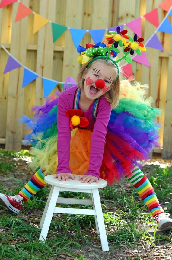 Rainbow Tutu by Atutudes Perfect for girls 1st birthday party skirt