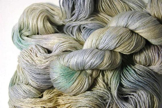 Silk Merino in Dried Hydrangea