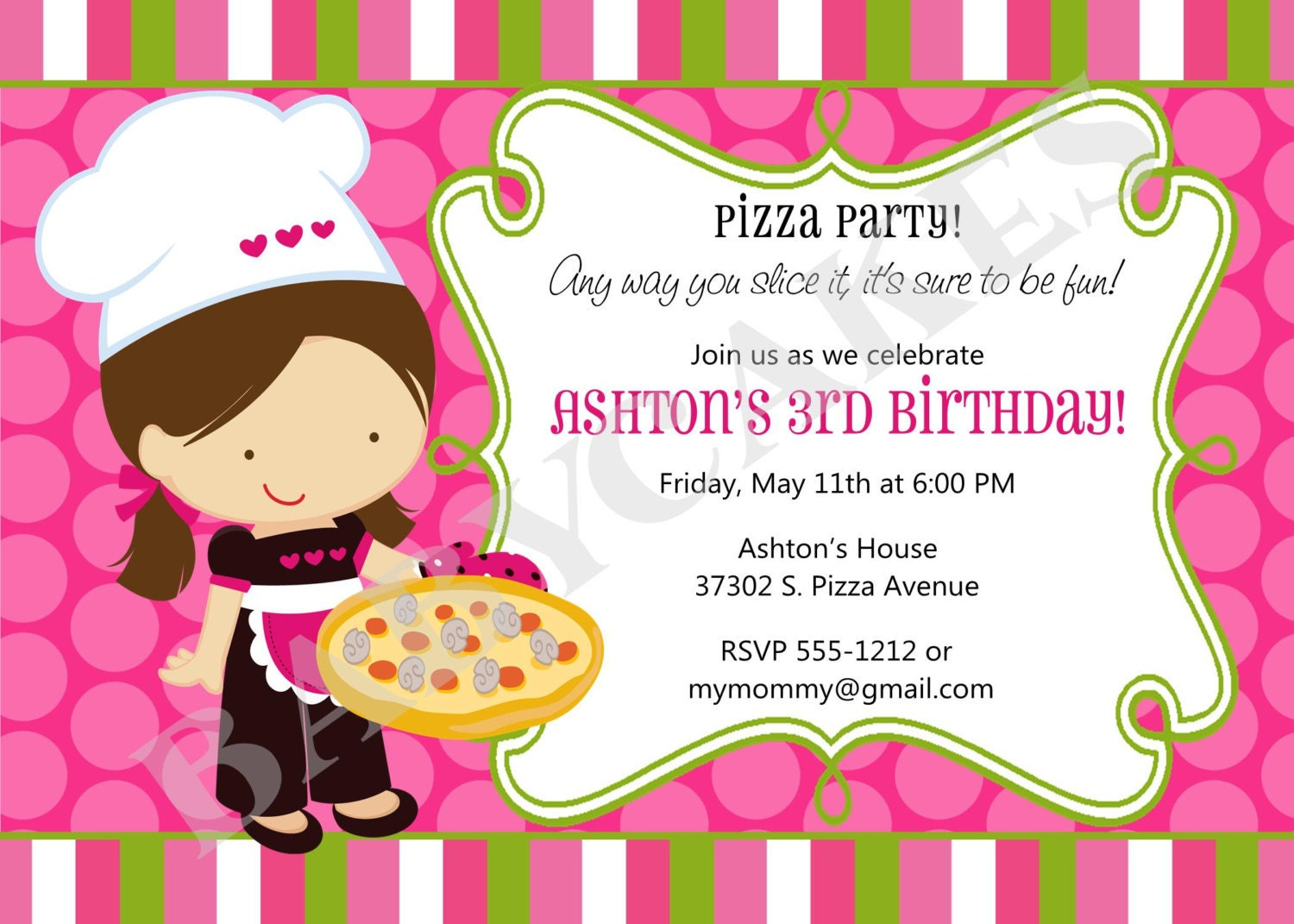Pizza Party Invitation was very inspiring ideas you may choose for invitation ideas
