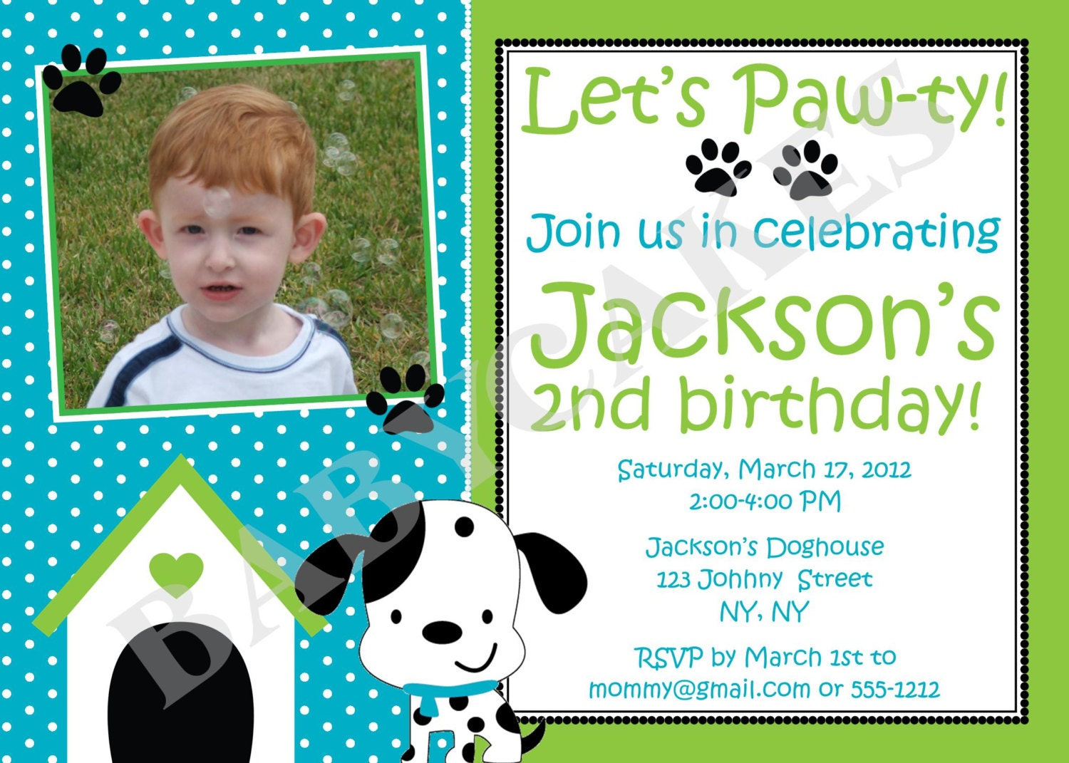 Puppy Party Invitations for your inspiration to make invitation template look beautiful