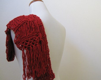 Red Hot Long Scarf