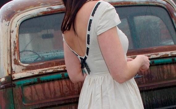 Sally - Linen Tea Dress