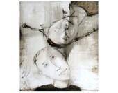 art  printI ,  figurative, I LOVE YOU, figurative