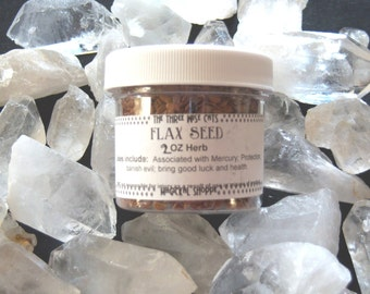Flax Seed Herb - Mercury, Protection, Prosperity, Banish Evil