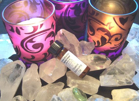 Chakra Balancing Oil 1 Dram - Balance Your Energy