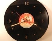 Led Zeppelin Vinyl Record Wall Clock (In Through The Out Door)