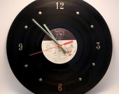 PINK FLOYD Vinyl Record Wall Clock (The Wall)