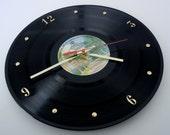 FLEETWOOD MAC Vinyl Record Wall Clock (Rumours)