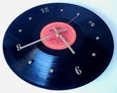 JANIS JOPLIN Vinyl Record Wall Clock (Janis Joplin's Greatest Hits)