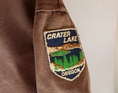 I Get Around, organic hiking / camping Cover-all, Cotton Canvas with 8 souvenir PATCHES