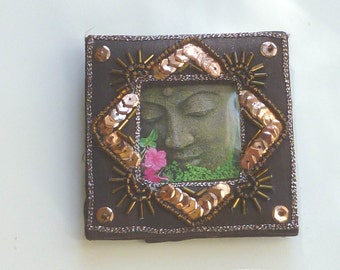 Small Frames, Hand beaded & Embroidered, Made in India, set of  2