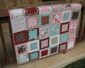 Blush Lap Quilt Throw