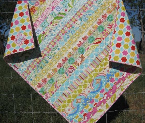 Kumari Baby Girl Quilt Handmade Last One By Sunnysidedesigns2