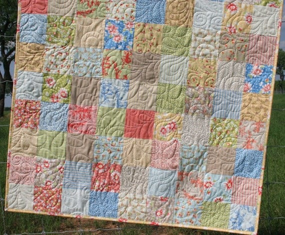 Shabby Chic Baby Quilt