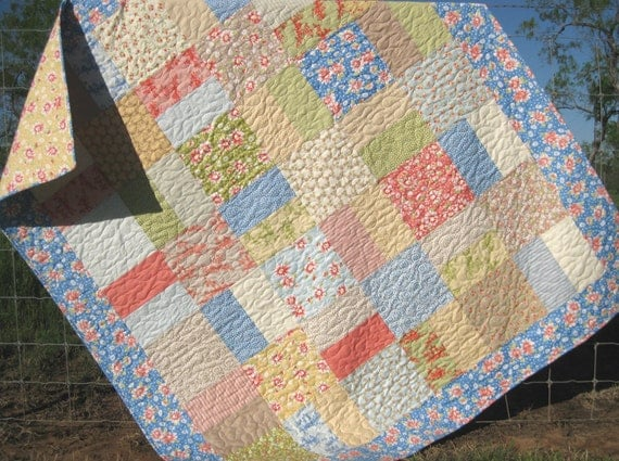 Shabby Chic Quilt Throw