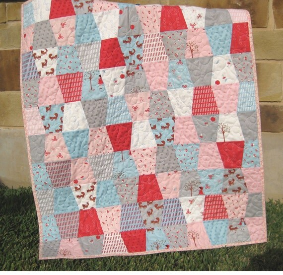 Little Red Riding Hood Tumbler Quilt