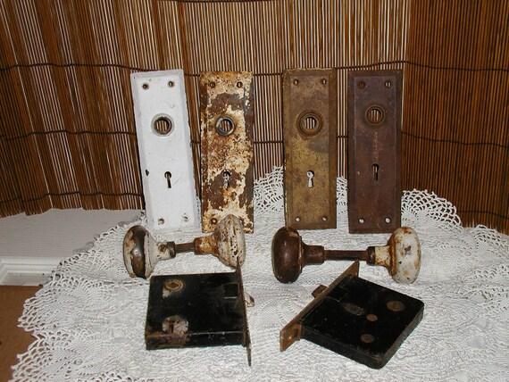 Rustic Door Hardware, 2 full sets